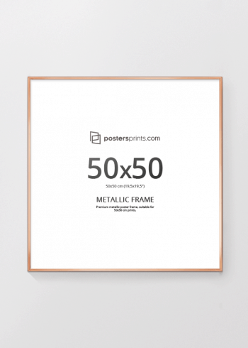 BILDERRAHMEN KUPFER 50x50