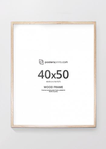 BILDERRAHMEN EICHE 40x50