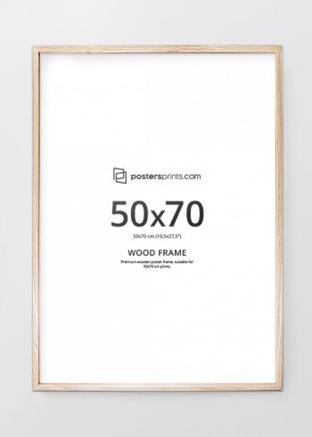 BILDERRAHMEN EICHE 50x70