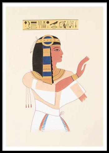EGYPTIAN QUEEN NO. 3 POSTER
