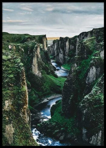 ICELANDIC VALLEY POSTER