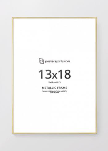 BILDERRAHMEN GOLD 13x18