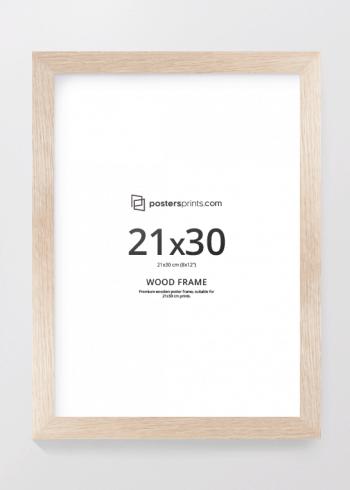 BILDERRAHMEN EICHE 21x30