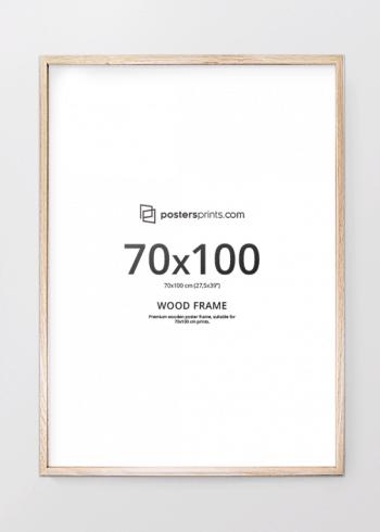 BILDERRAHMEN EICHE 70x100