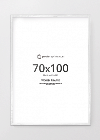 BILDERRAHMEN WEISS, 70x100