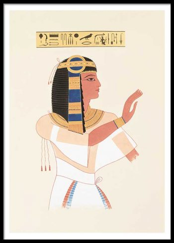 EGYPTIAN QUEEN NO. 3 POSTER
