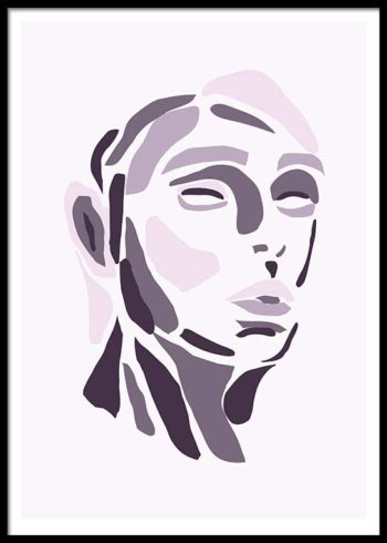ABSTRACT FACIAL POSTER